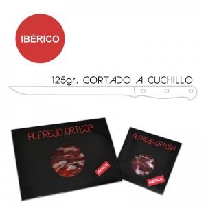 Jamón Ibérico Cortado a Cuchillo 125gr