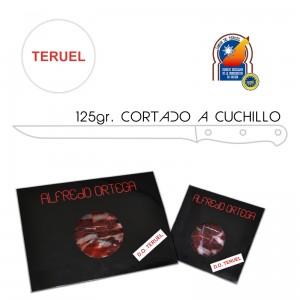 Jamón de Teruel Cortado a Cuchillo 125gr